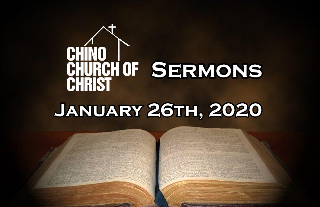 """Sermon – """"Jesus, the Way"""""""
